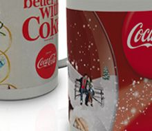 coffee cups x-mas promotion